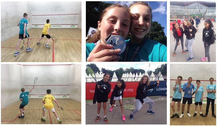 London Youth Games Squash finals